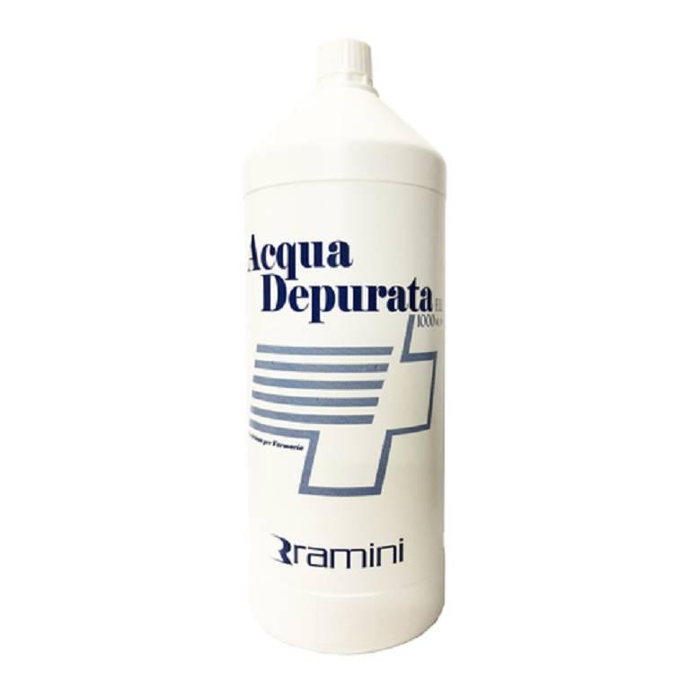 acqua depurata per profumi